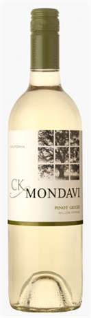 Ck Mondavi Pinot Grigio Willow Springs California